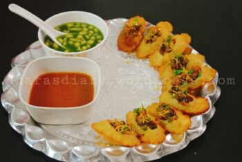 Gluten-Free Soya Gol-Gappa - Street Food Of India - Plattershare - Recipes, Food Stories And Food Enthusiasts