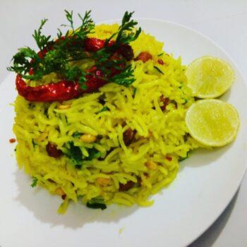 Lemon Rice - Plattershare - Recipes, Food Stories And Food Enthusiasts