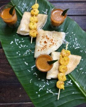 Kerala Style Appam Dosa - Plattershare - Recipes, Food Stories And Food Enthusiasts