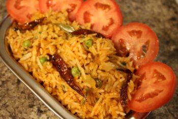 Tomato Rice | Thakkali Sadam - Plattershare - Recipes, Food Stories And Food Enthusiasts