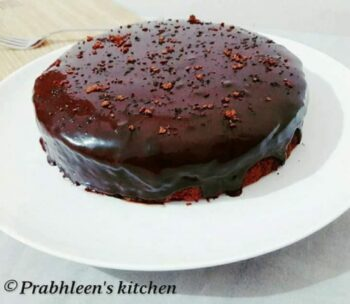 Eggless Chocolate Cake - Plattershare - Recipes, Food Stories And Food Enthusiasts