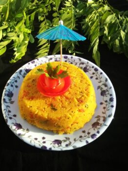 Khara Bhath - Plattershare - Recipes, Food Stories And Food Enthusiasts