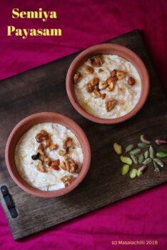 Semiya Payasam / Vermicelli Kheer - Plattershare - Recipes, Food Stories And Food Enthusiasts