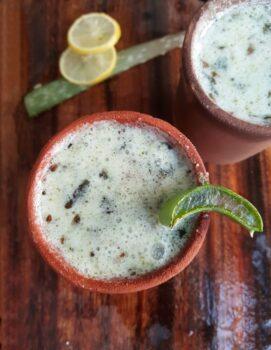 Katrazhai Neer Moru/ Aloe Vera Buttermilk - Plattershare - Recipes, Food Stories And Food Enthusiasts