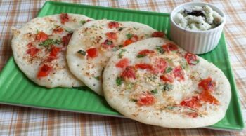 Rava Uttapam/Sooji Uttapam - Plattershare - Recipes, Food Stories And Food Enthusiasts