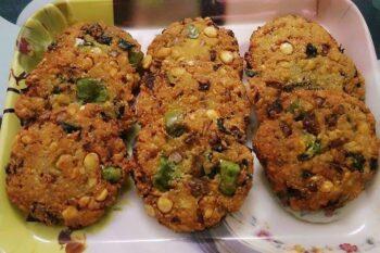 Masala Vadai/ South Indian Paruppu Vadai - Plattershare - Recipes, Food Stories And Food Enthusiasts