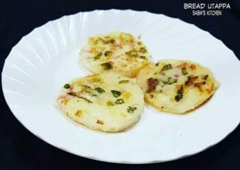 Bread Utappa - Plattershare - Recipes, Food Stories And Food Enthusiasts