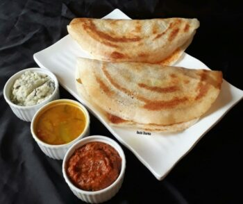 Mysore Masala Dosa - Plattershare - Recipes, Food Stories And Food Enthusiasts