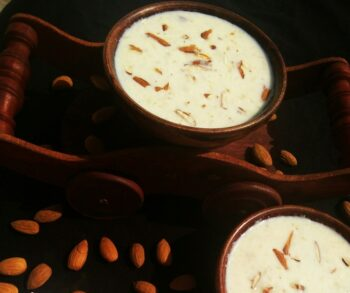 Almond Payasam - Plattershare - Recipes, Food Stories And Food Enthusiasts