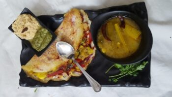 Kanchipuram Dosa - Plattershare - Recipes, Food Stories And Food Enthusiasts