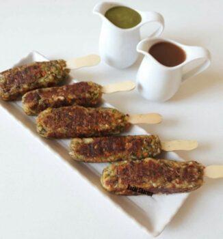 Idli Kebab - Plattershare - Recipes, Food Stories And Food Enthusiasts