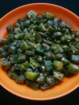 Vendakkai Poriyal - Plattershare - Recipes, Food Stories And Food Enthusiasts
