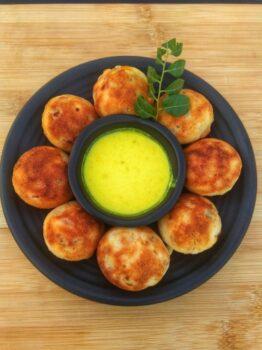 Instant Kuzhipaniyaram - Plattershare - Recipes, Food Stories And Food Enthusiasts