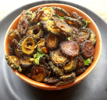 Karela Chips   Pavakkai Chips - Plattershare - Recipes, Food Stories And Food Enthusiasts