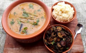 Instant Tur-Moong Daal Drumsticks Sambar With Sambar Powder - Plattershare - Recipes, Food Stories And Food Enthusiasts