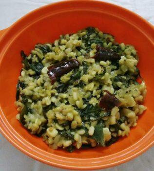 Paruppu Keerai Poriyal - Plattershare - Recipes, Food Stories And Food Enthusiasts