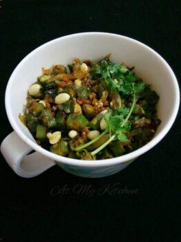 Okra Stir Fry / Ladies Finger Stir Fry - Plattershare - Recipes, Food Stories And Food Enthusiasts