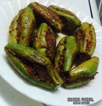 Stuffed Pointed Gourd - Potols Vepudu -Bharwan Parwal - Plattershare - Recipes, Food Stories And Food Enthusiasts