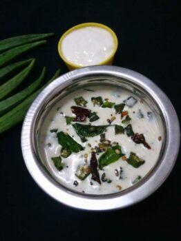 Vendakkai Pachadi - Plattershare - Recipes, Food Stories And Food Enthusiasts