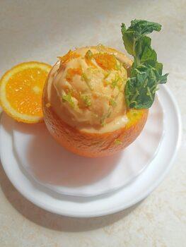 Homemade Orange Creamsicle Ice Cream - Plattershare - Recipes, Food Stories And Food Enthusiasts