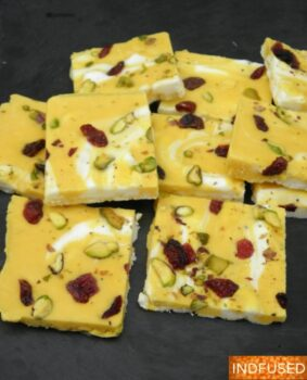Homemade Mango Fro Yo- Aamrakhand Fro Yo Bark - Plattershare - Recipes, Food Stories And Food Enthusiasts