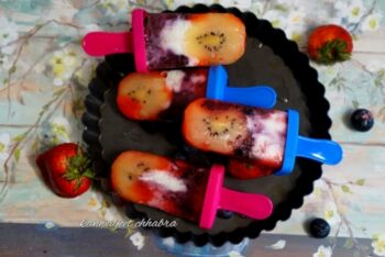Dye And Tie Vitamin C Popsicle - Plattershare - Recipes, Food Stories And Food Enthusiasts