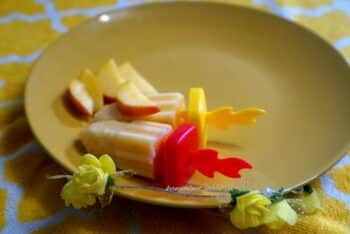 Peach Yougurt Popsicle - Plattershare - Recipes, Food Stories And Food Enthusiasts