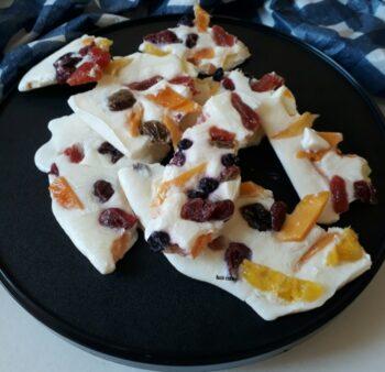 Frozen Yogurt Fruit Bark - Plattershare - Recipes, Food Stories And Food Enthusiasts