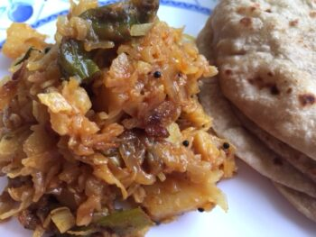 Cabbage Sabji Gujarati Style - Plattershare - Recipes, Food Stories And Food Enthusiasts