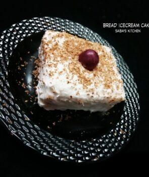Bread Icecream Cake - Plattershare - Recipes, Food Stories And Food Enthusiasts