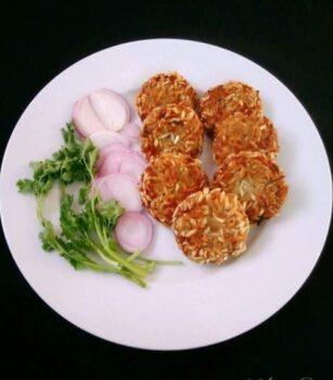 Aloo Poha Tikki/ Potato Cutlet - Plattershare - Recipes, Food Stories And Food Enthusiasts