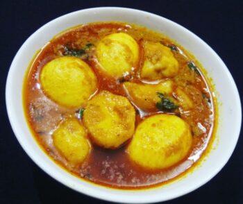 Potato Egg Curry - Ande Aloo Ka Salan - Anda Aloo Rasa - Plattershare - Recipes, Food Stories And Food Enthusiasts