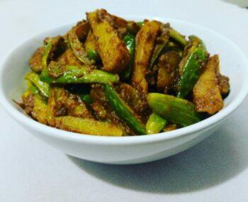 Tendli Aloo Sabzi - Tendli Batata Nu Shaak - Plattershare - Recipes, Food Stories And Food Enthusiasts