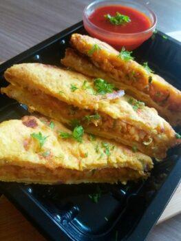 Bread Pakora - Plattershare - Recipes, Food Stories And Food Enthusiasts