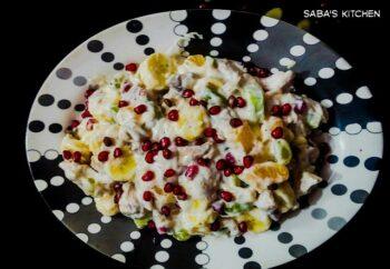 Potato Fruit Salad - Plattershare - Recipes, Food Stories And Food Enthusiasts
