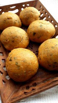 100% Whole Wheat Potato Stuffed Masala Buns - Plattershare - Recipes, Food Stories And Food Enthusiasts