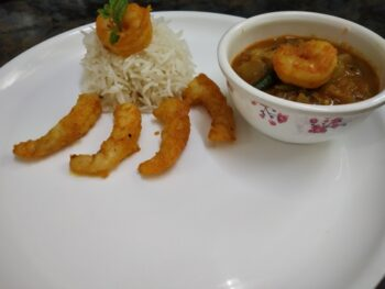 Prawn Rice - Plattershare - Recipes, Food Stories And Food Enthusiasts