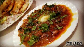 Pav Bhaji - Mixed Vegetable Bhaji - Plattershare - Recipes, Food Stories And Food Enthusiasts