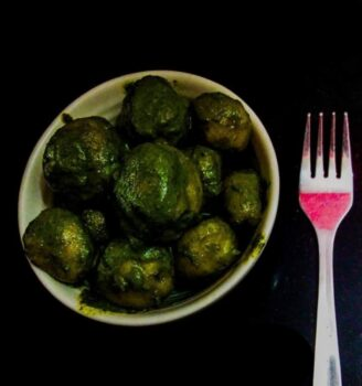 Mint Aloo - Plattershare - Recipes, Food Stories And Food Enthusiasts
