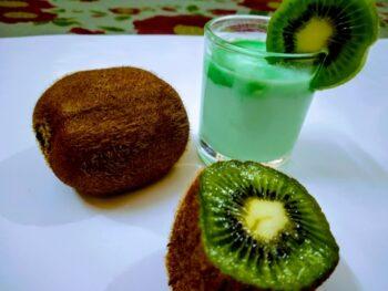 Kiwi Shot - Plattershare - Recipes, Food Stories And Food Enthusiasts