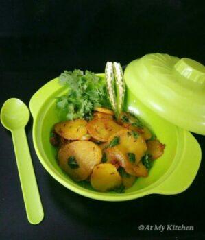 Crisp Potato /Aloo Fry - Plattershare - Recipes, Food Stories And Food Enthusiasts
