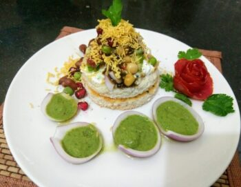 Bread Ring Aloo Chat - Plattershare - Recipes, Food Stories And Food Enthusiasts