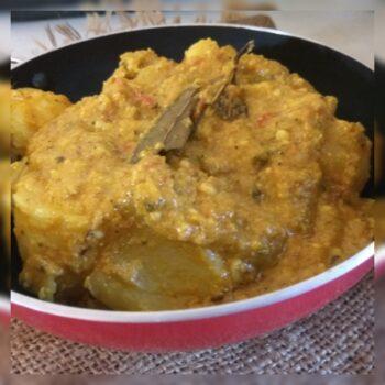 Shahi Kashmiri Dum Aloo - Plattershare - Recipes, Food Stories And Food Enthusiasts
