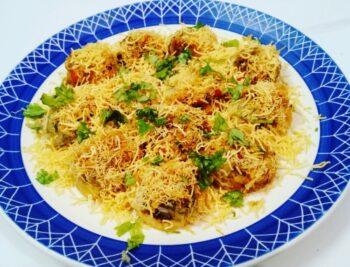 Batata Sevpuri - Plattershare - Recipes, Food Stories And Food Enthusiasts