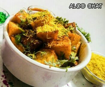 Aloo Chat - Plattershare - Recipes, Food Stories And Food Enthusiasts