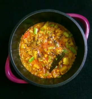 Potato And Minced Paneer - Plattershare - Recipes, Food Stories And Food Enthusiasts