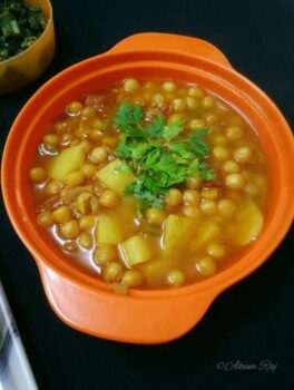Potato Yellow Peas Curry - Plattershare - Recipes, Food Stories And Food Enthusiasts