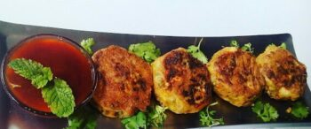 Mixed Sprouts Tikki - Plattershare - Recipes, Food Stories And Food Enthusiasts