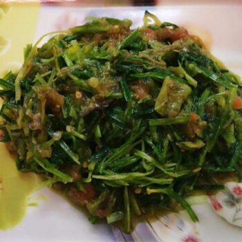Chives Chutney/ Chives Salad - Plattershare - Recipes, Food Stories And Food Enthusiasts