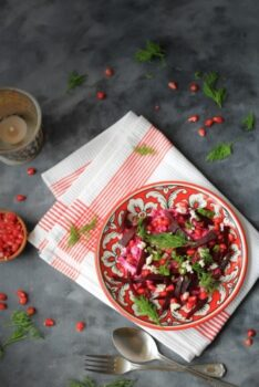 Charred Beet Salad - Plattershare - Recipes, Food Stories And Food Enthusiasts